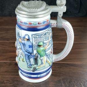 Vintage Avon Baseball Beer Stein.